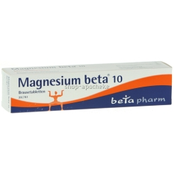 Magnesium beta 10 Brausetabletten