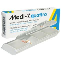 Medi-7® quattro Medikamentendosierer weiß