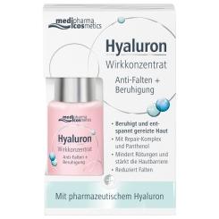 medipharma cosmetics Hyaluron Wirkkonzentrat Anti-Falten + Beruhigung