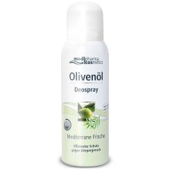 medipharma cosmetics Olivenöl Deospray Mediterrane Frische