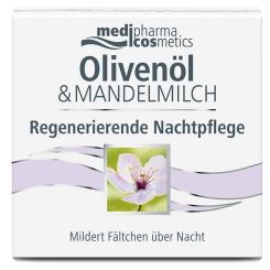 medipharma cosmetics Olivenöl & Mandelmilch Regenerierende Nachtpflege