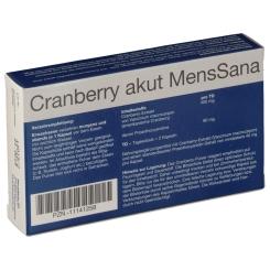 MensSana Cranberry akut