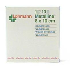 Metalline Kompressen 8 x 10 cm