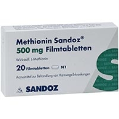 Methionin Sandoz 500mg