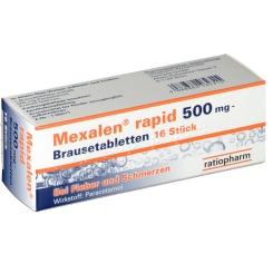 Mexalen® rapid 500 mg Brausetabletten