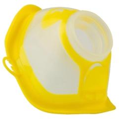 MicroDrop® RF7 plus Softmaske Kind gelb-transparent