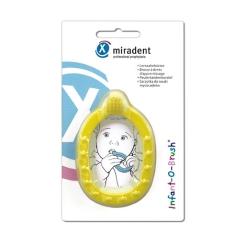miradent Infant-O-Brush® Lernzahnbürste gelb