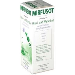 MIRFUSOT Wind- und Wetterbad