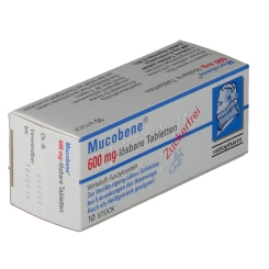 Mucobene® 600 mg-lösbare Tabletten