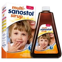 Multi Sanostol Sirup ohne Zucker