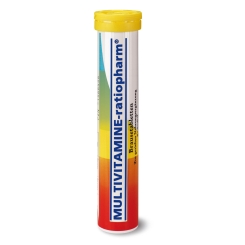 MULTIVITAMINE-ratiopharm® Brausetabletten