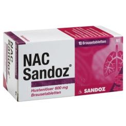 NAC Sandoz Hustenlöser 600 mg Brausetabletten