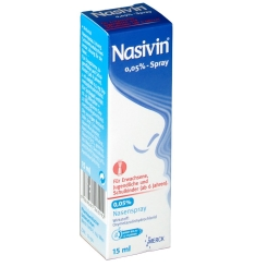 Nasivin® 0,05% Nasenspray