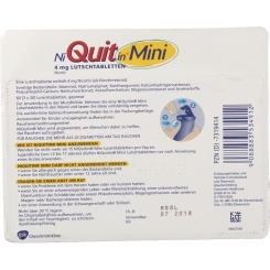 NiQuitin® Mini 4 mg