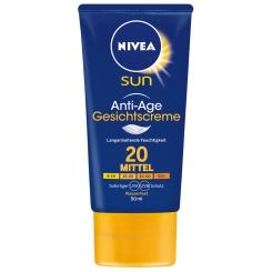 NIVEA® SUN Anti-Age Gesichts-Sonnencreme LSF 20