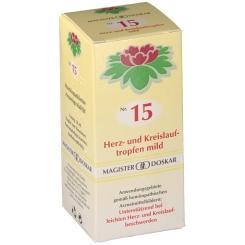 Nr. 15 Herz- und Kreislauftropfen mild