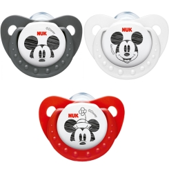 NUK® Beruhigungssauger Disney Mickey Silikon Gr. 2 (6-18 Monate)