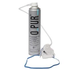 O PUR® Sauerstoff Dose mit Maske