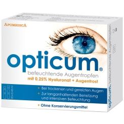 opticum® befeuchtende Augentropfen