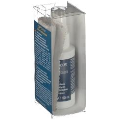 OPTIKclean Brillen-Reinigungsset Mikrofasertuch + Flüssigreiniger