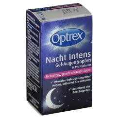 Optrex Nacht Intens Gel-Augentropfen 0,4 % Hyaluron