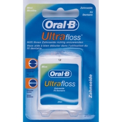 Oral-B Ultra Floss Zahnfaden mint 25m im Spender