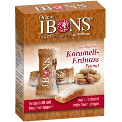 Original IBONS® Karamell-Erdnuss Ingwer Kaubonbons