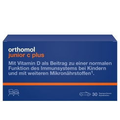 Orthomol junior C plus® Kautablettem Mandarine/Orange