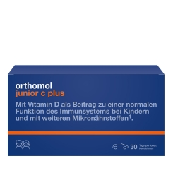 Orthomol junior C plus® Kautabletten Waldfrucht