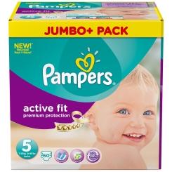 Pampers® Active Fit Gr.5 Junior 11-25kg Jumbo Plus Pack