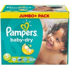 Pampers® baby-dry Gr. 5 junior 11-25 kg Jumbopack