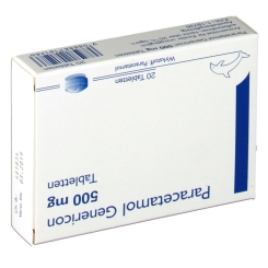 Paracetamol Genericon 500mg