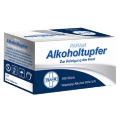 PARAM Alkoholtupfer