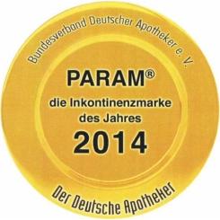 PARAM FIXIERSLIPS COMFORT PREMIUM Gr. 1 80-120 cm Umfang