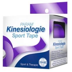 PARAM Kinesiologie Sport Tape 5 cm x 5 m Violett