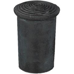 PARAM Krückenkapsel schwarz 20 mm
