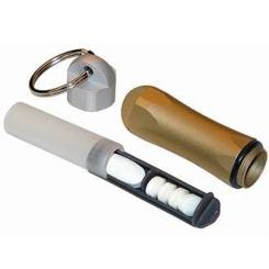 PARAM Tablettenträger Anhänger Gold