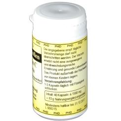 PHD Blütenpollen + Vitamin C Kapseln