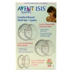 Philips® AVENT Isis Comfort Brustschalen Set