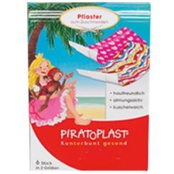 PIRATOPLAST® Kinderpflaster zum Zuschneiden für Mädchen in 2 Größen