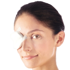 Pro-ophta® Augenkompresse 5,5 cm x 7,5 cm unsteril