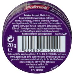 Pulmoll® Cassis zuckerfrei Minidose Bonbons