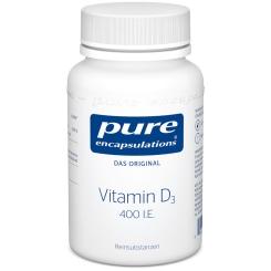 pure encapsulations® Vitamin D3 400 I.E.
