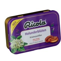 Ricola® Kräuterpastillen Holunderblüten ohne Zucker