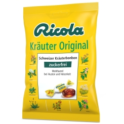 Ricola® Schweizer Kräuterbonbon Kräuter Original ohne Zucker