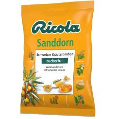 Ricola® Schweizer Kräuterbonbons Sanddorn ohne Zucker