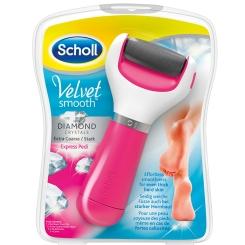 Scholl Velvet Smooth Express Pedi pink stark