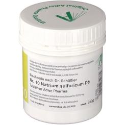 Schüßler Salz Nr. 10 Natrium sulf.