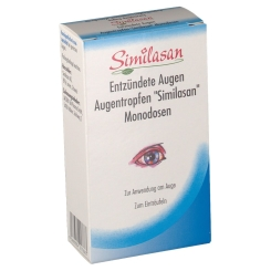 Similasan Entzündete Augen Augentropfen Monodosen