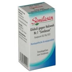 Similasan Globuli gegen Halsweh Nr. 1